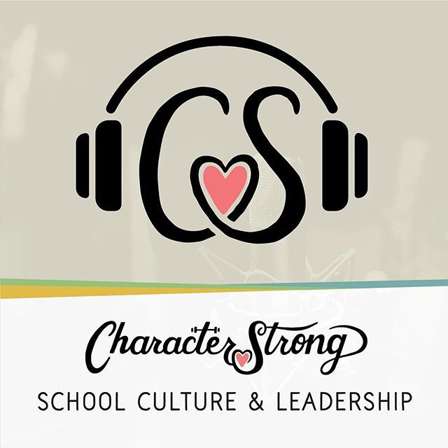 We are so excited today to be launching the CharacterStrong Podcast where we will be putting out regular content from thought leaders, educators, administrators, counselors, and amazing people all over the country who are doing amazing work transforming their school culture and climate!  It would mean the world to us if you would give it a listen and rate and review it on iTunes! If you like it you can even subscribe. The link is in our bio @characterstrong  You can also find us on Spotify!