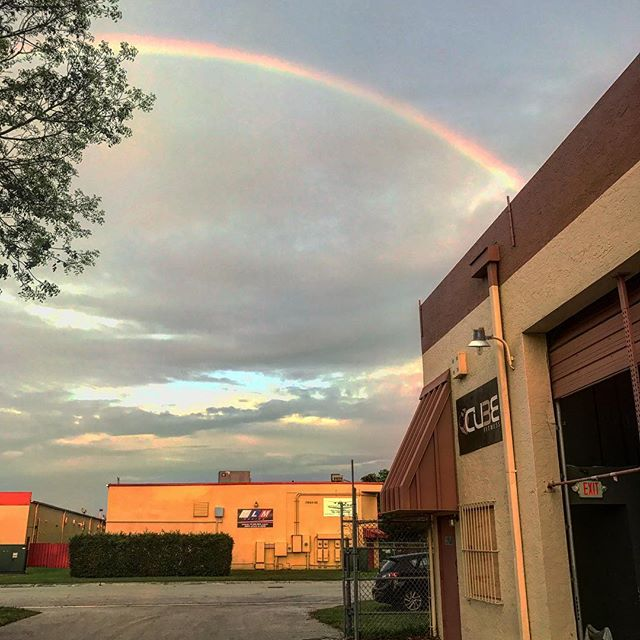 A rainbow is never the sign to search for gold but a reminder that god is in control of his mission for us in life #Mission #Vision #Purpose #FollowTheRainbow #CROSSfit #GodIsBehindItAll