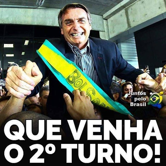 Ainda mais fortalecidos, vamos em frente! Venceremos! #BolsonaroPresidente 🇧🇷