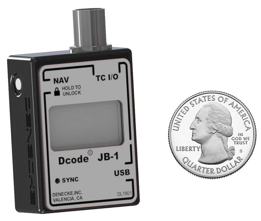 Denecke Dcode JB-1 Compact Timecode Syncbox