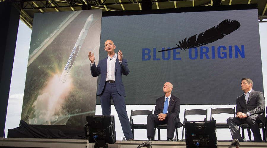 Blue Origin in Cape Canaveral