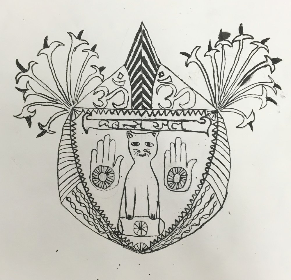 Personal coat of arms | 11th grade
