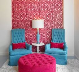 Images from Jessica's Pinterest board - turquoise and hot pink? Yes please. And that touch of gold…hmmm… :)