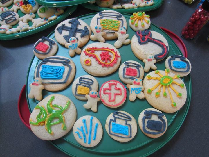 Pandemic Cookies at Casa Leacock
