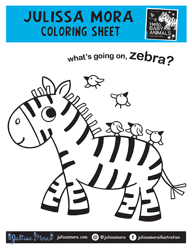 What's going on, zebra?