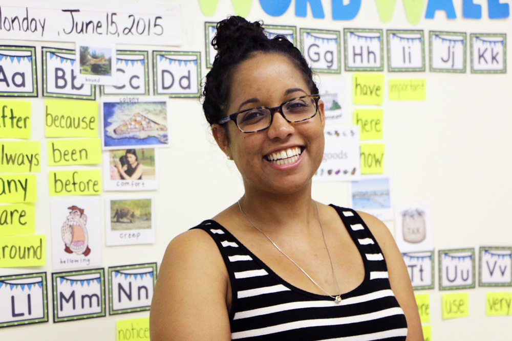 Adrienne Williams wears many hats these days, supporting students as well as teachers to perform at a higher level. Urban Teachers helped Adrienne develop the classroom skills and habits that make such leadership possible. Read more.
