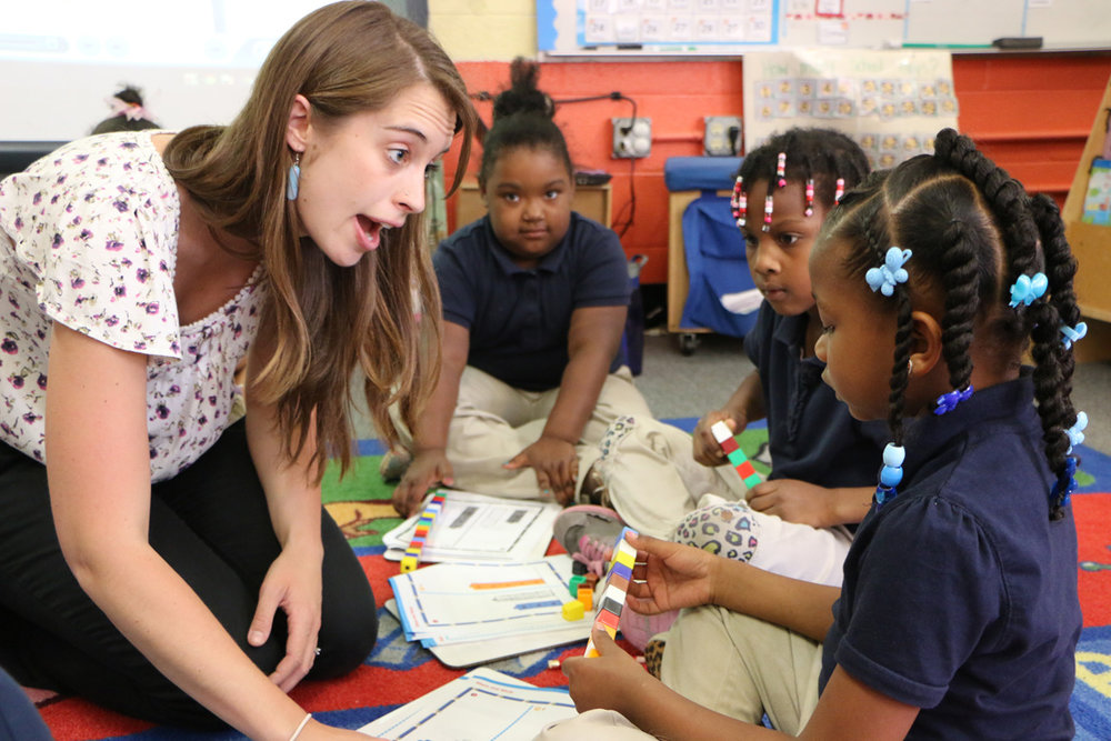 Chelsea Rivas Lynch joined Urban Teachers in 2013 and Teaches in DC.