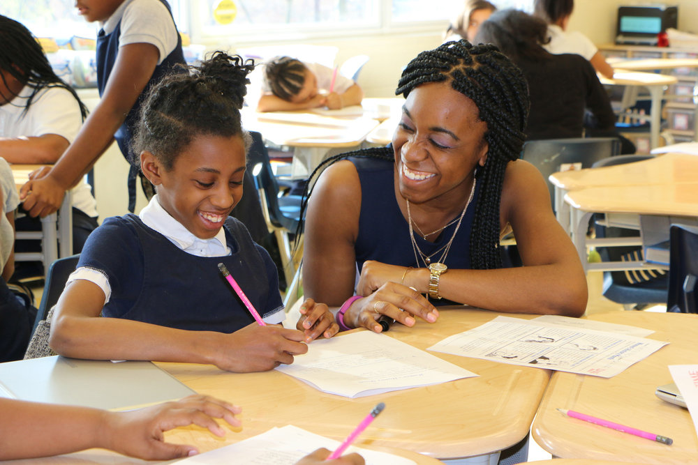 AnTOINETTE SMITH JOINED URBAN TEACHERS IN 2012.