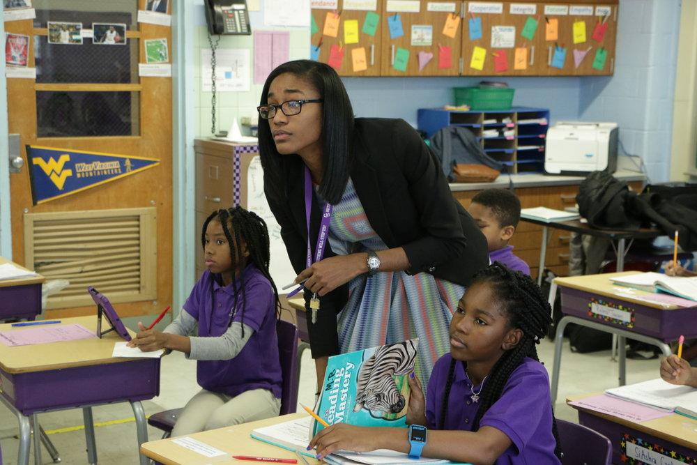 TANIKA Lynch joined Urban Teachers in 2016.