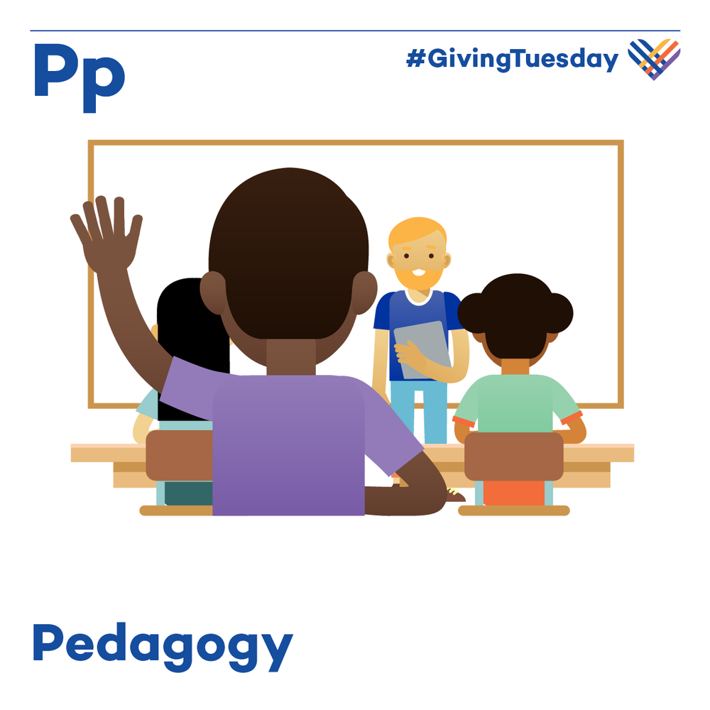 Pedagogy informs teaching strategies, actions, judgments, and decisions by taking into consideration theories of learning, understandings of student needs, and the backgrounds and interests of individual students.