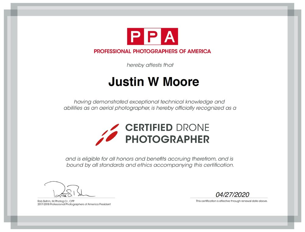 Certified Drone Photographer Airborne