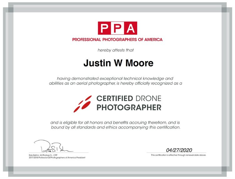 Certified Drone Photographer — Airborne
