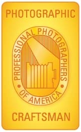 Photographic Craftsman Degree from PPA