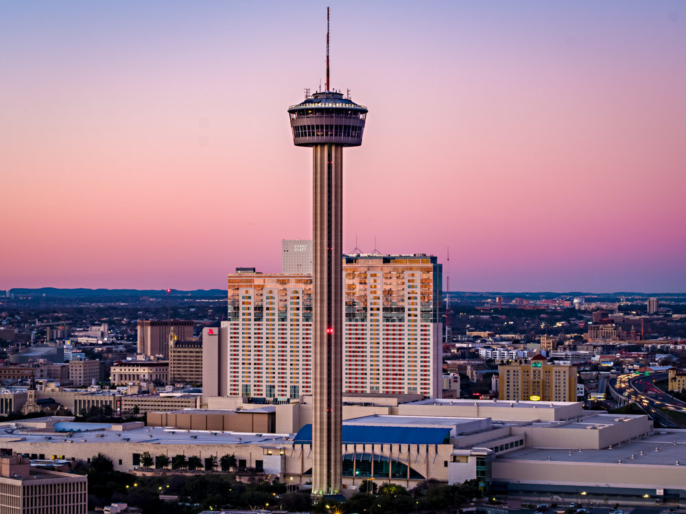 Tower of Americas at Dusk