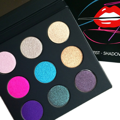 make up for ever artist palette volume 2 swatches review