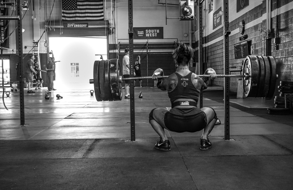 A paused-tempo front squat for 2 reps at 245#, easily makes most men feel sheepish.