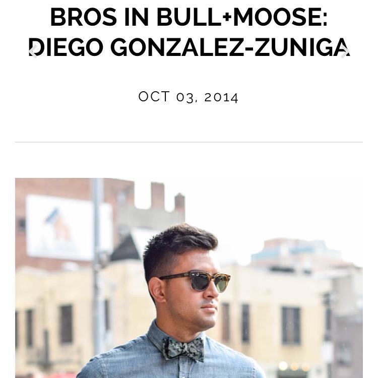 Bros In Bull+Moose: Diego Gonzalez-Zuniga
