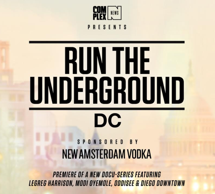 COMPLEX RUN THE UNDERGROUND DC