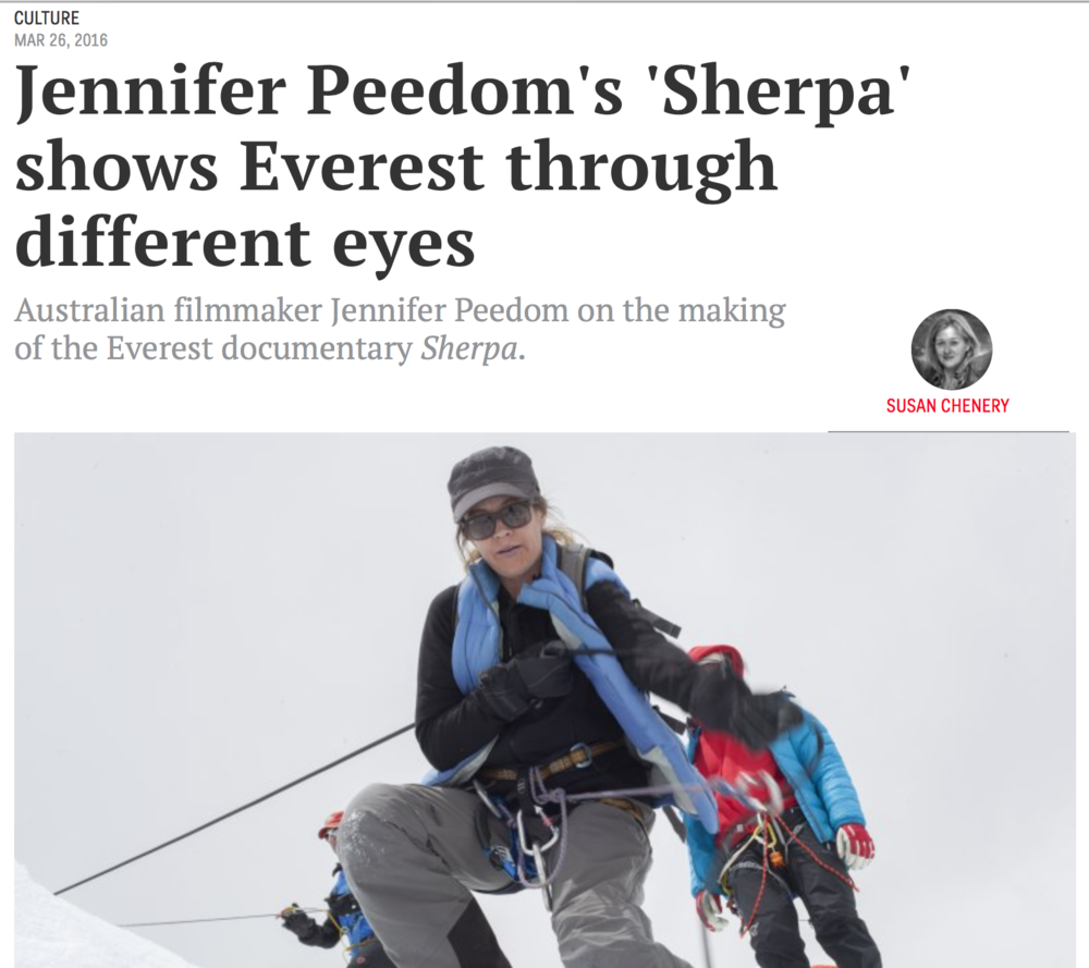 https://www.thesaturdaypaper.com.au/culture/film/2016/03/26/jennifer-peedoms-sherpa-shows-everest-through-different-eyes/14589108003037#