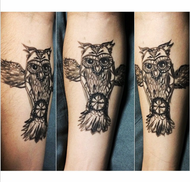Owl Be Your Arm Model