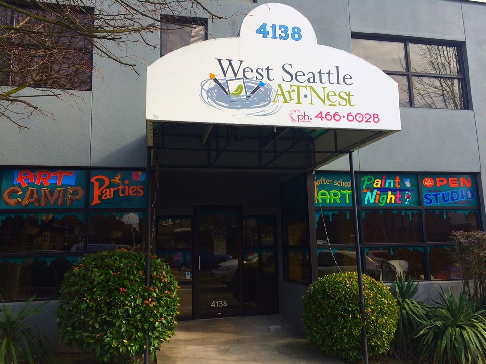 West Seattle Art NestWest Nest Kids Studio