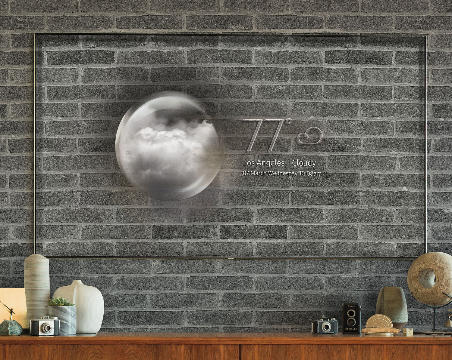 New Samsung QLED Ambient Mode — Vision and Sound