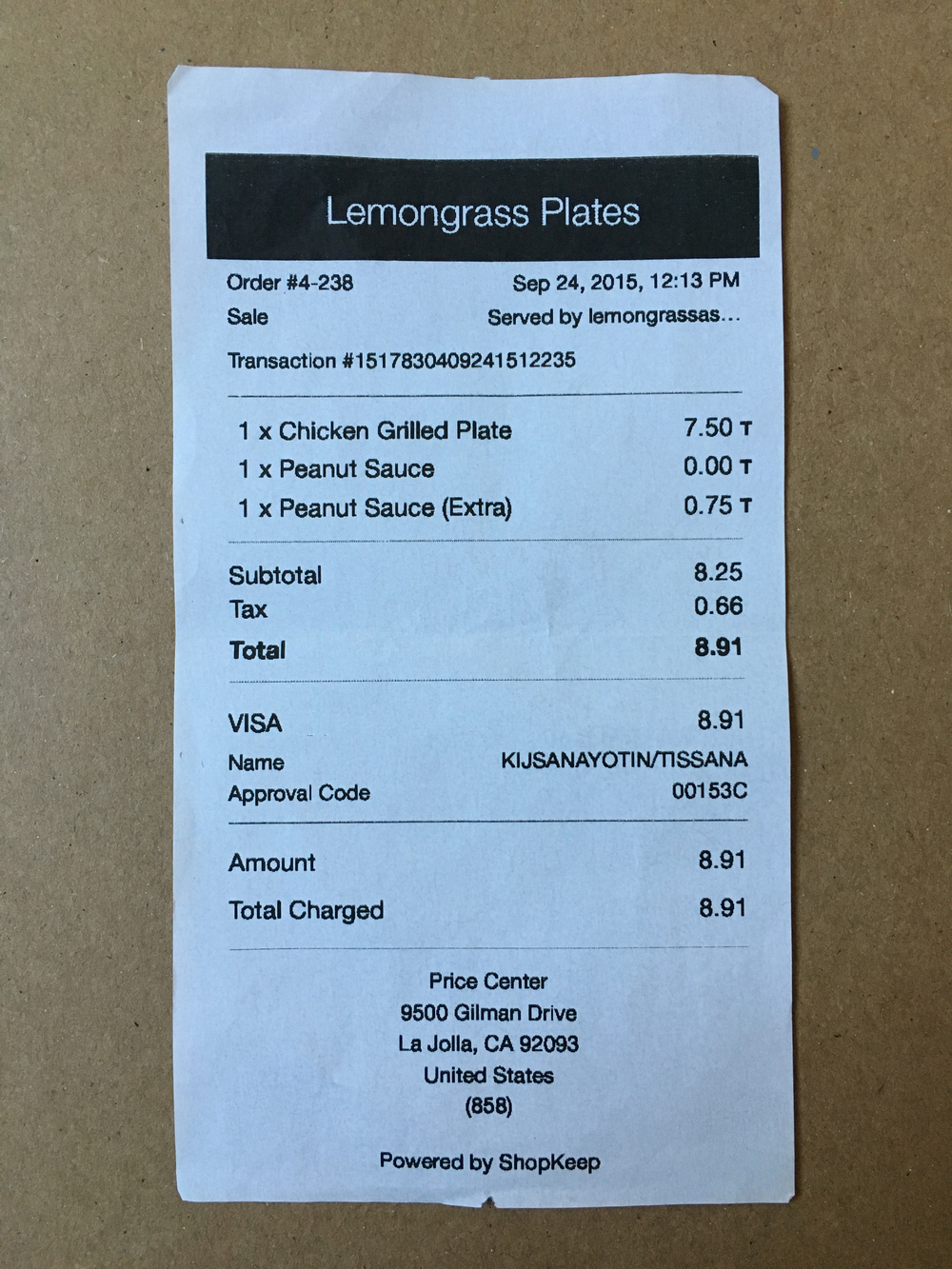 Coin is not compatible with credit card terminals that require users full name in order to process.  You can easily notice whether the terminal needs your name by looking at the receipt like his one from Lemongrass Plate.