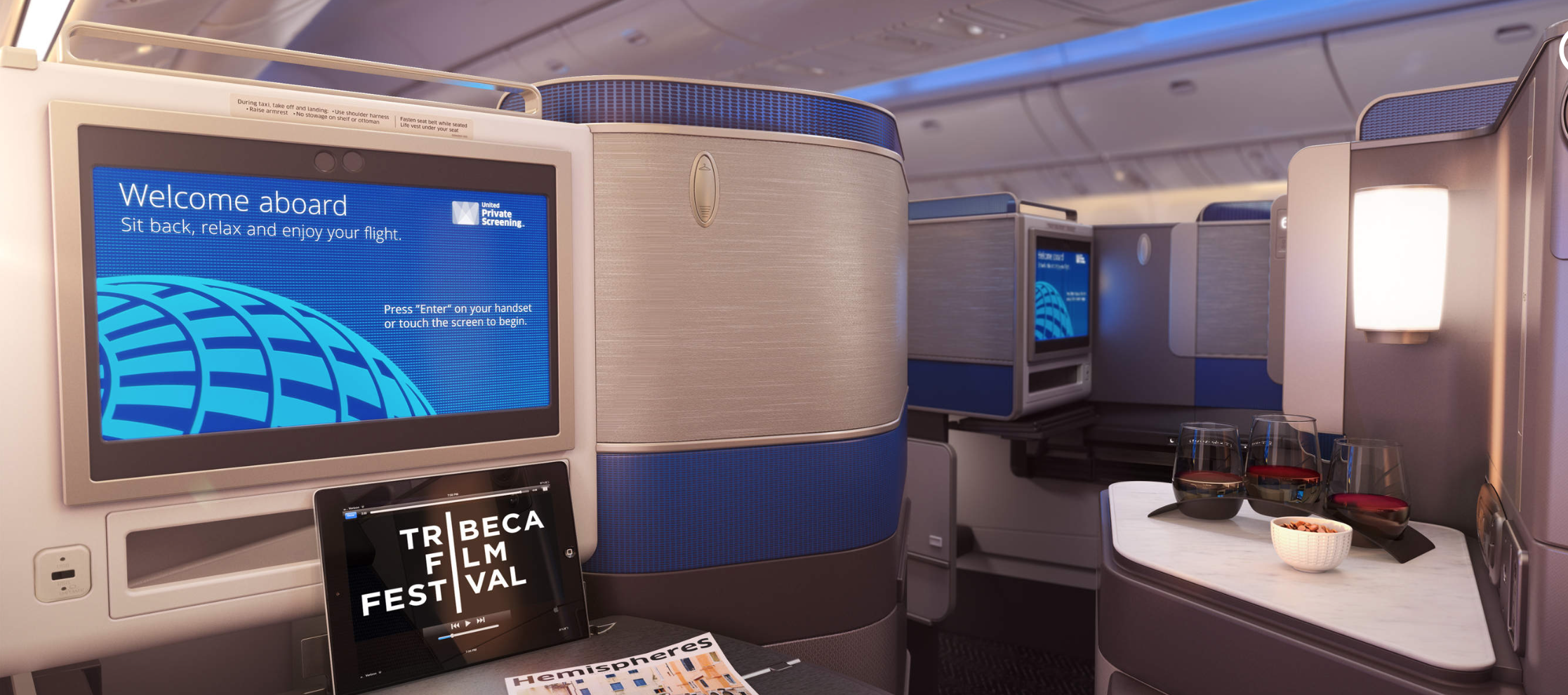 Flight Experience United Polaris Business Class From San Francisco To Hong Kong