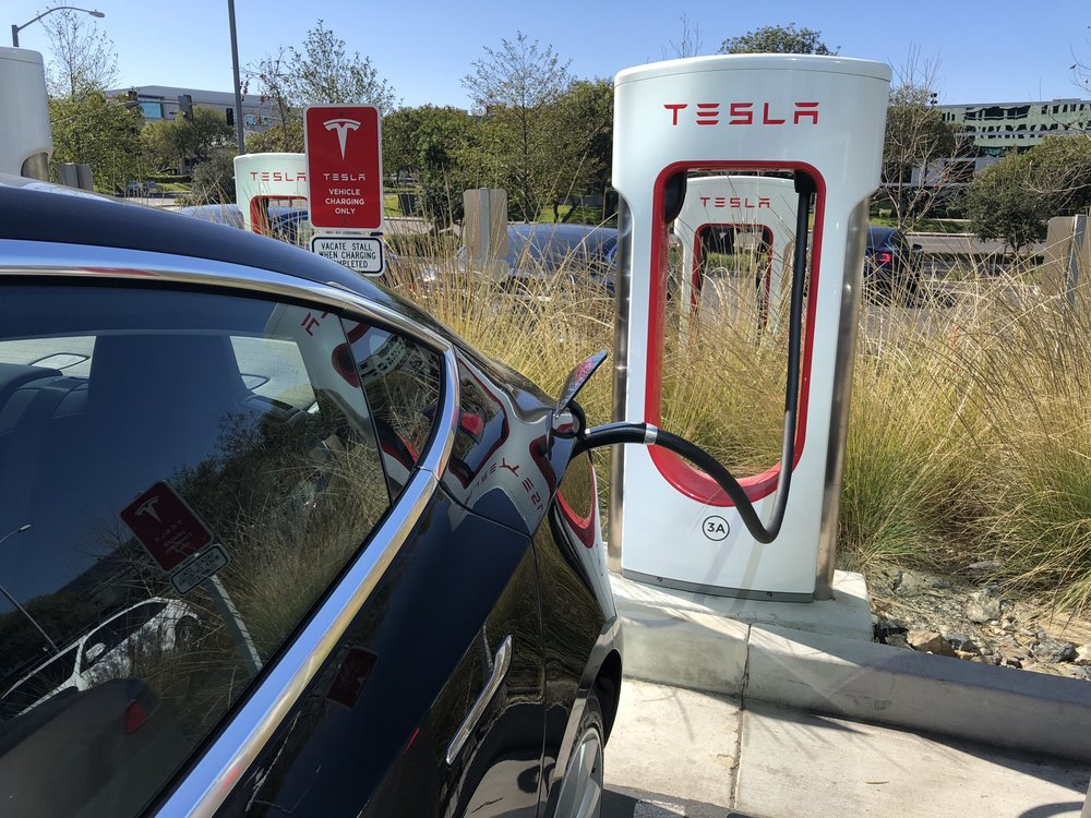Supercharger will charge the car up very quickly. However, it is not free for Model 3 owners.