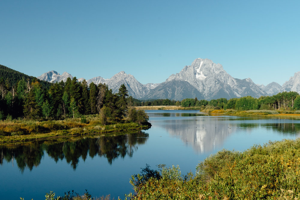 The  Oxbow Bend  during the day.