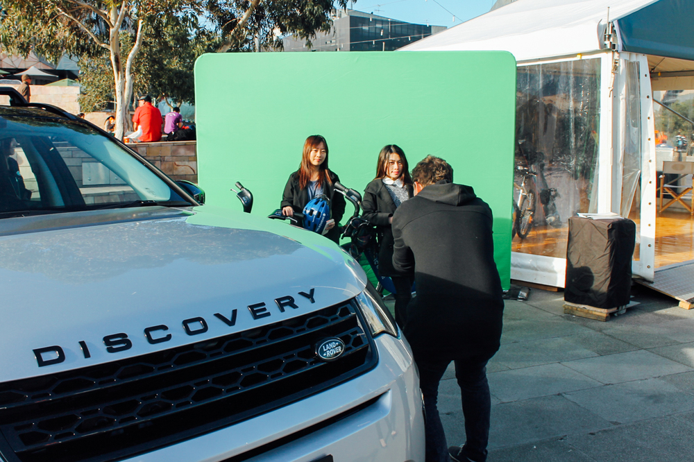 Land Rover Fed Square