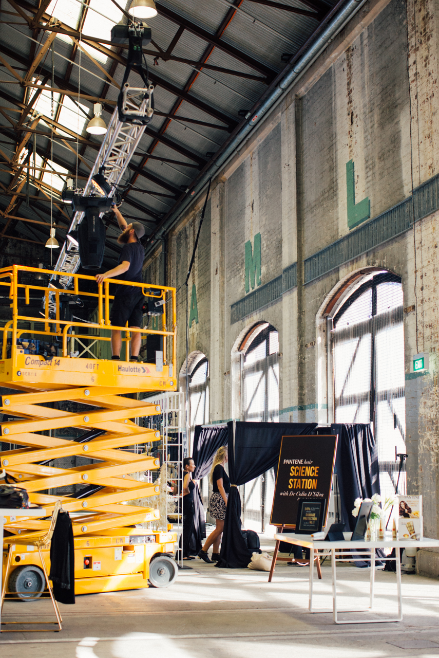Pantene Carriageworks