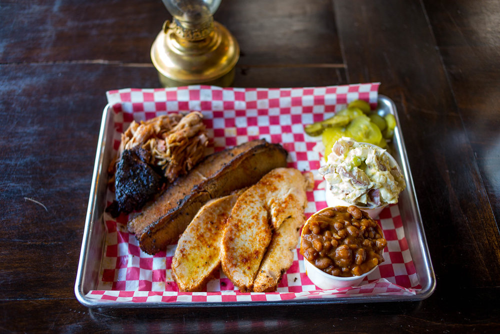 Smoke Tree BBQ Palm Springs Meal