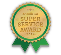 ALlied Waterproofing & Drainage is a proud recipient of the Angie's List Super Service Award for 5 straight years.
