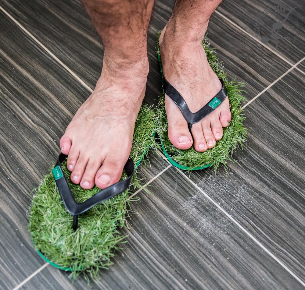 Grassy Sandals