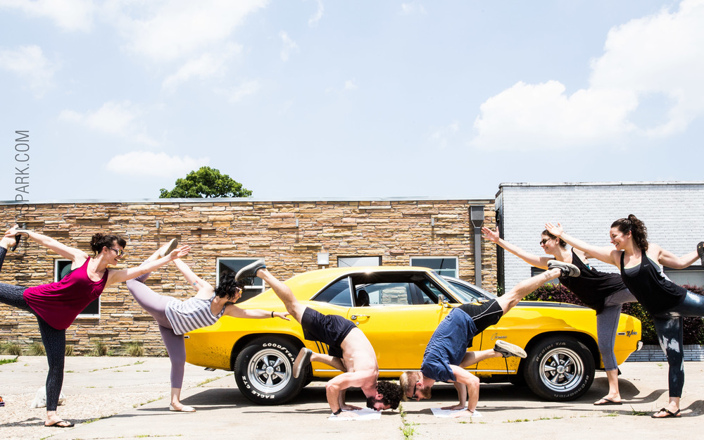 Todd, Muscle Car and Yoga