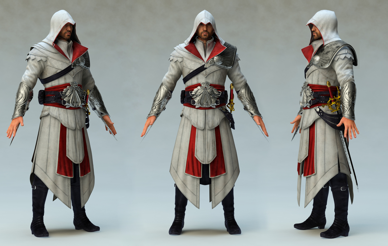 Assassin S Creed Brotherhood Ezio Minecraft Skin