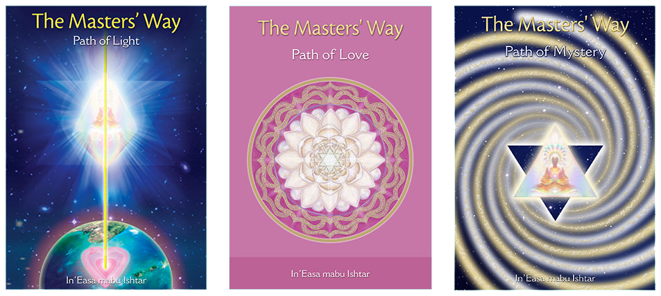 This course changes lives. Allow the Ascended Masters to show you the way to spiritual self-mastery on Earth. Walk the threefold path with us and en-lighten. Join a group in your local area of like-minded souls and discover a whole new way to live your life with grace and ease. This is a practical yet deeply spiritual program for deep transformation.    Find a teacher in your area      L   EARN MORE ABOUT THE MASTERS' WAY COURSE     →