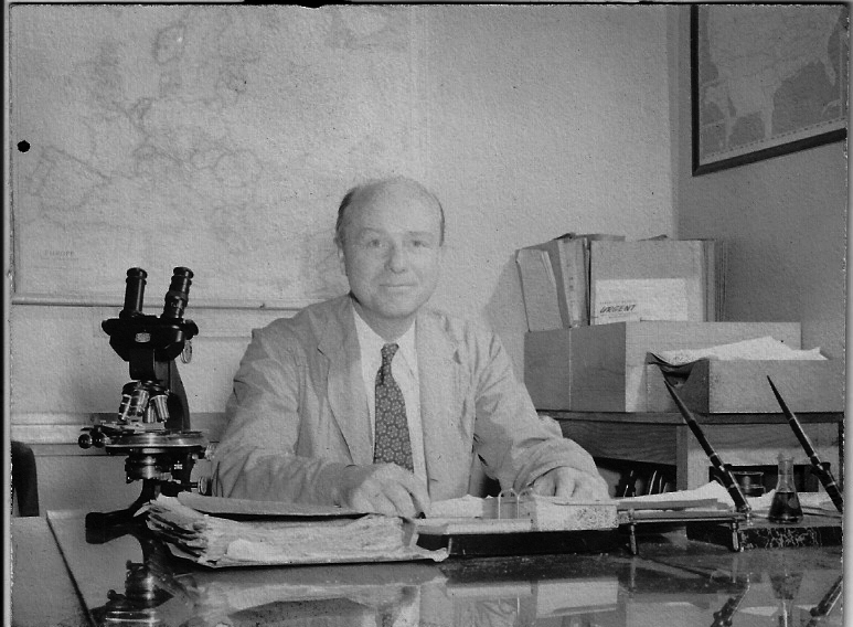 SA Charles A. Appel in 1942 at the FBI Laboratory. (Courtesy his son, retired SA Ed Appel, Sr.)
