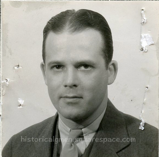SA S. K. McKee (Samuel K. McKee)   1935 FBI Photo