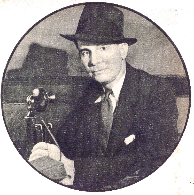 "Birmingham FBI SAC, William Rorer circa 1934. He along with SAC's John Keith and D. M. ""Mickey"" Ladd with other agents and Memphis police raided Kelly's hideout. The home still exists today. Photo courtesy his son, J. Davis Rorer."