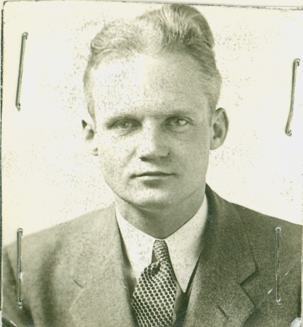 SA Fred T. McIntyre 1934 Courtesy FBI