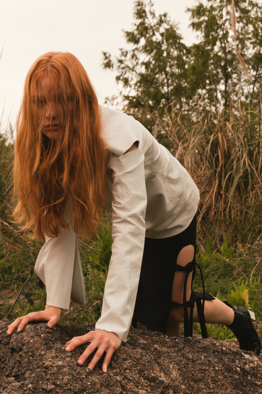 shirt + boots DUBIE, skirt BLACK MAMBA
