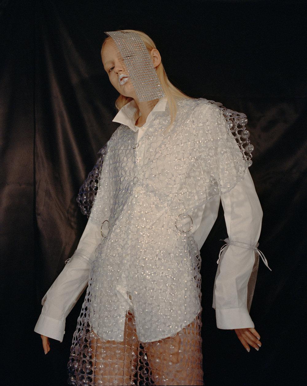 shirt MAISON MARTIN MARGIELArest of look CHEYUAN LEE