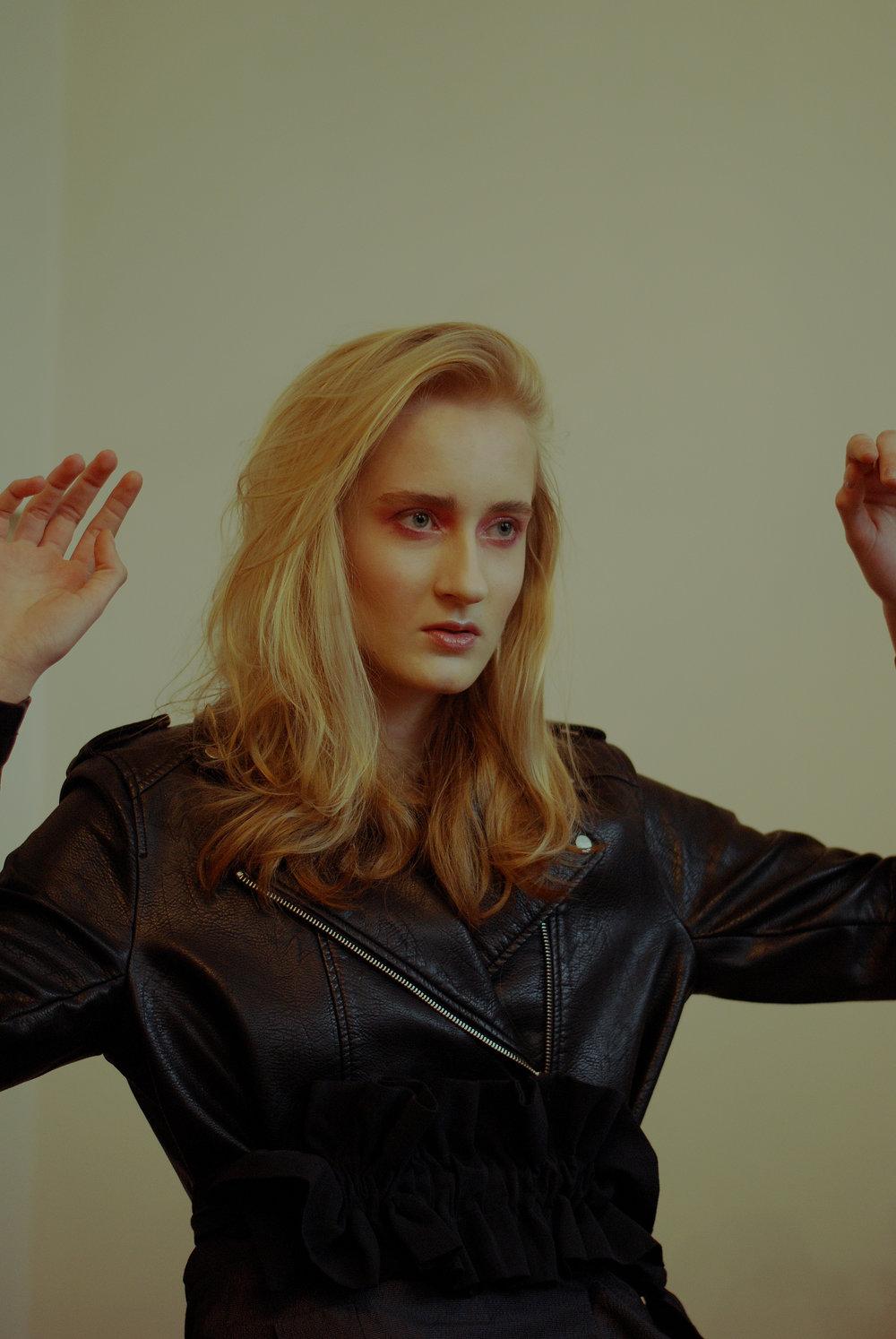 leather jacket ZARA, skirt MMC