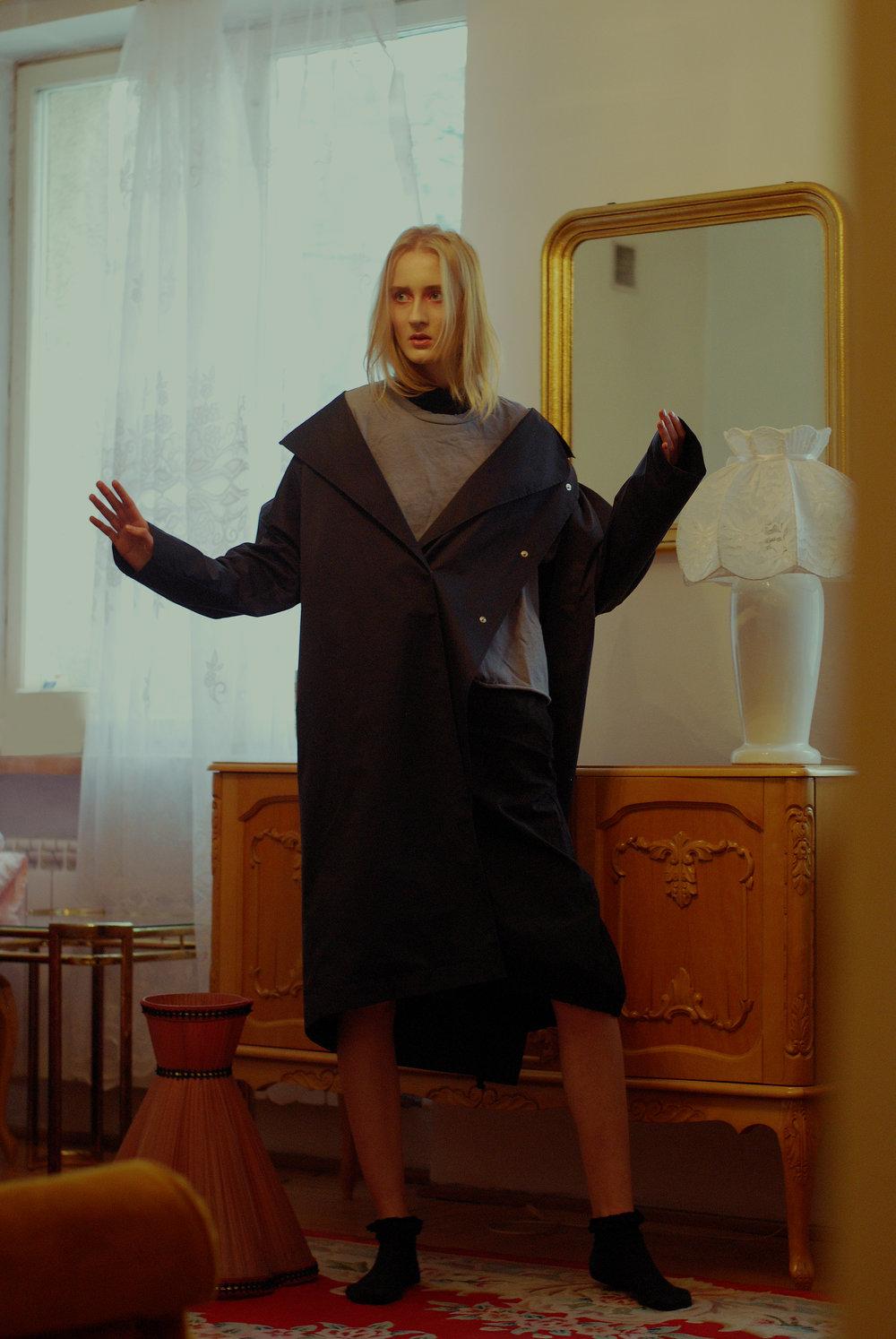 t-shirt TOPSHOP, waistcoat MMC, skirt ZARA