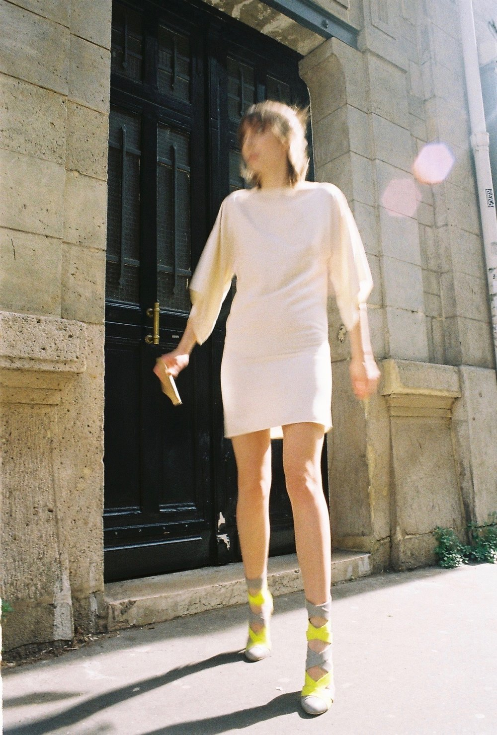 dress  MAISON DORIS , boots  REPETTO