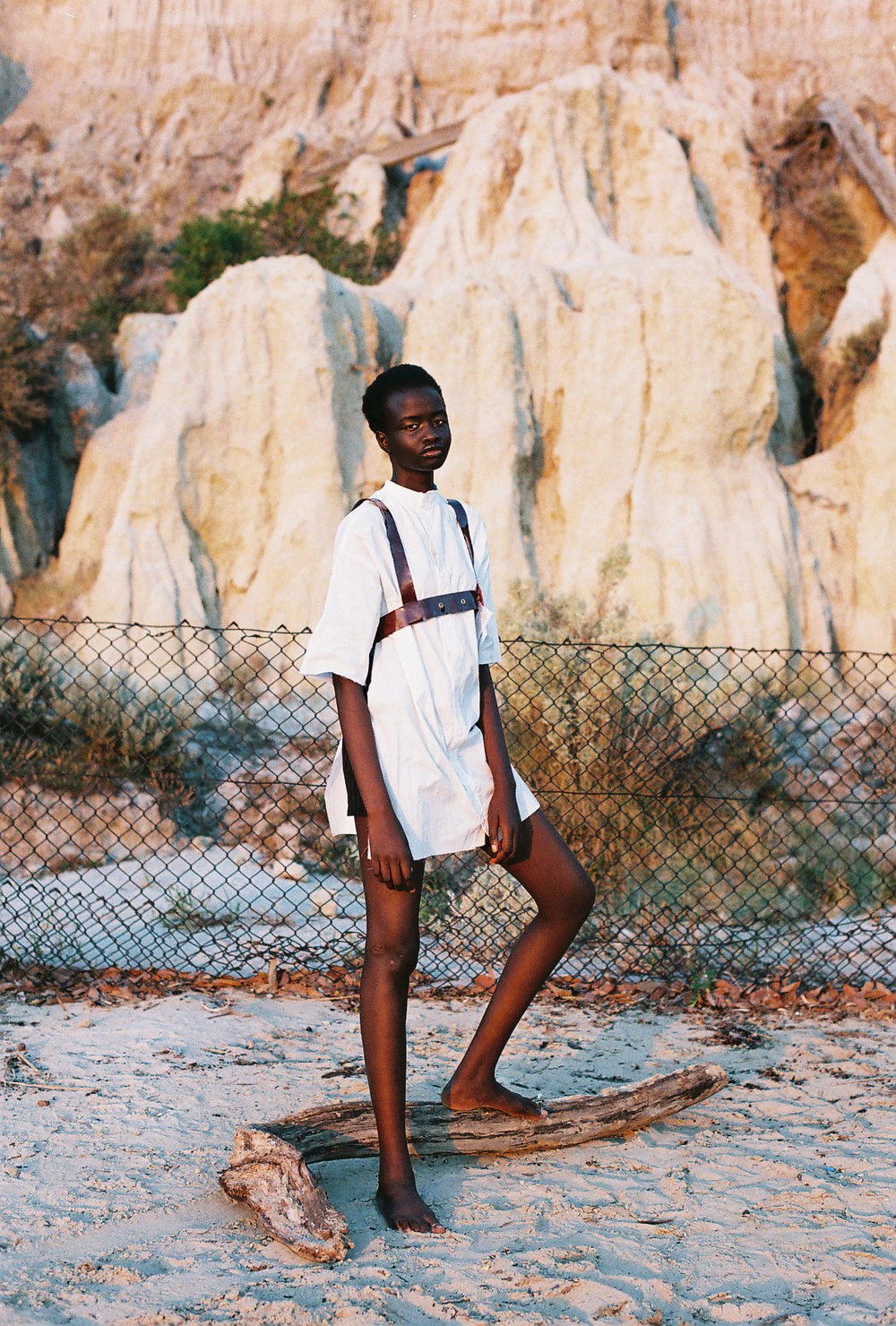shirt SAMANTHA DIORIO, harness AGGIE CHOI