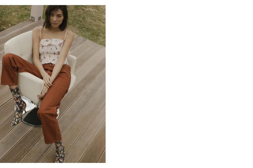 top Zara, Jeans Uniqlo, Zara boots