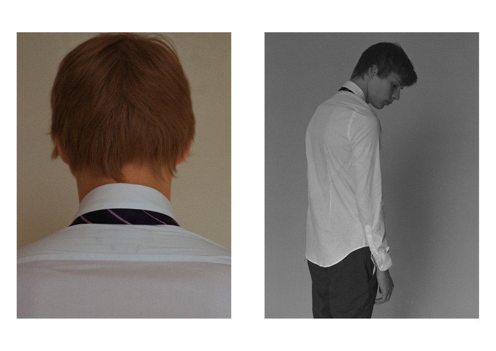 shirt stylist's own, tie ZARA, trousers H&M